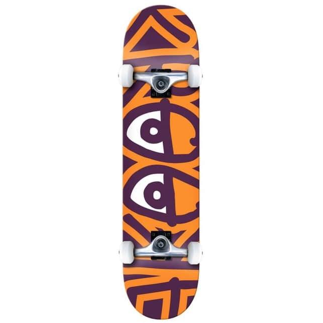 "Krooked Skateboards Big Eyes Too Orange Complete Skateboard 8.25""   Complete Skateboard by Krooked Skateboards 1"