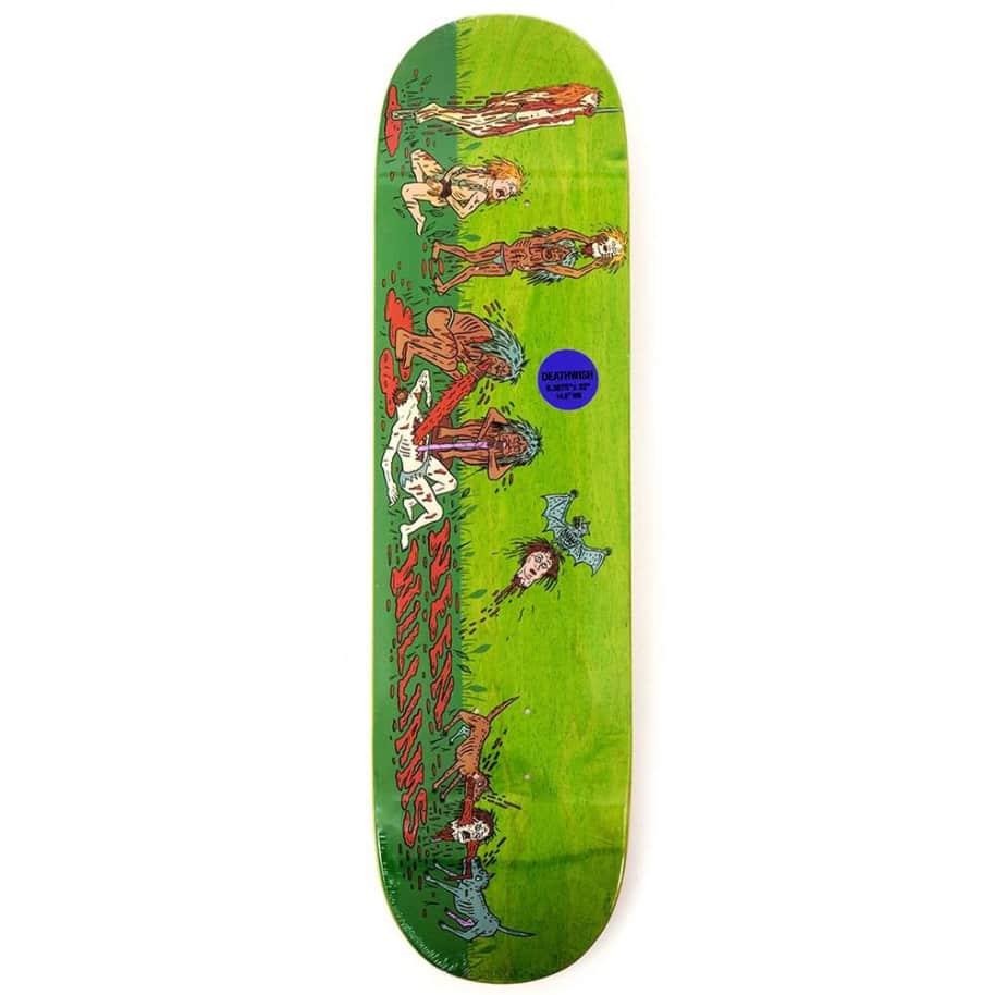 Deathwish Neen Cannibal Village Skateboard Deck - 8.38 | Deck by Deathwish 1