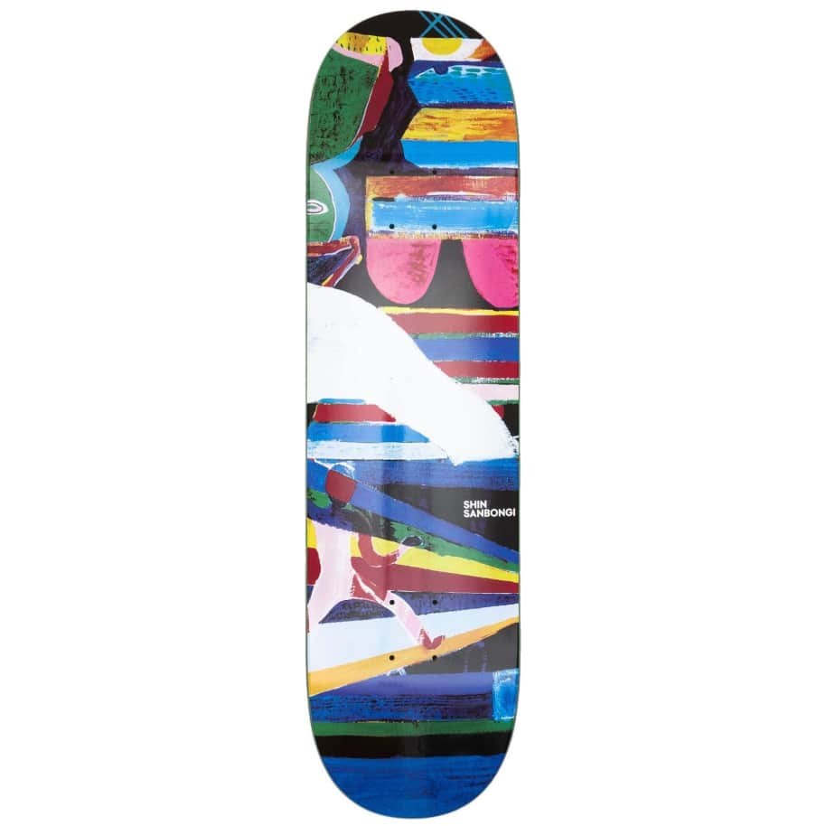 "Polar Skate Co Shin Sanbongi Memory Palace Skateboard Deck - 8.5"" | Deck by Polar Skate Co 1"