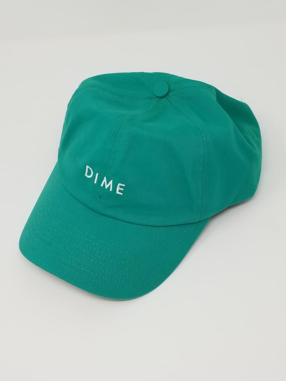 DIME BASIC HAT - LIGHT GREEN   Baseball Cap by Dime 1