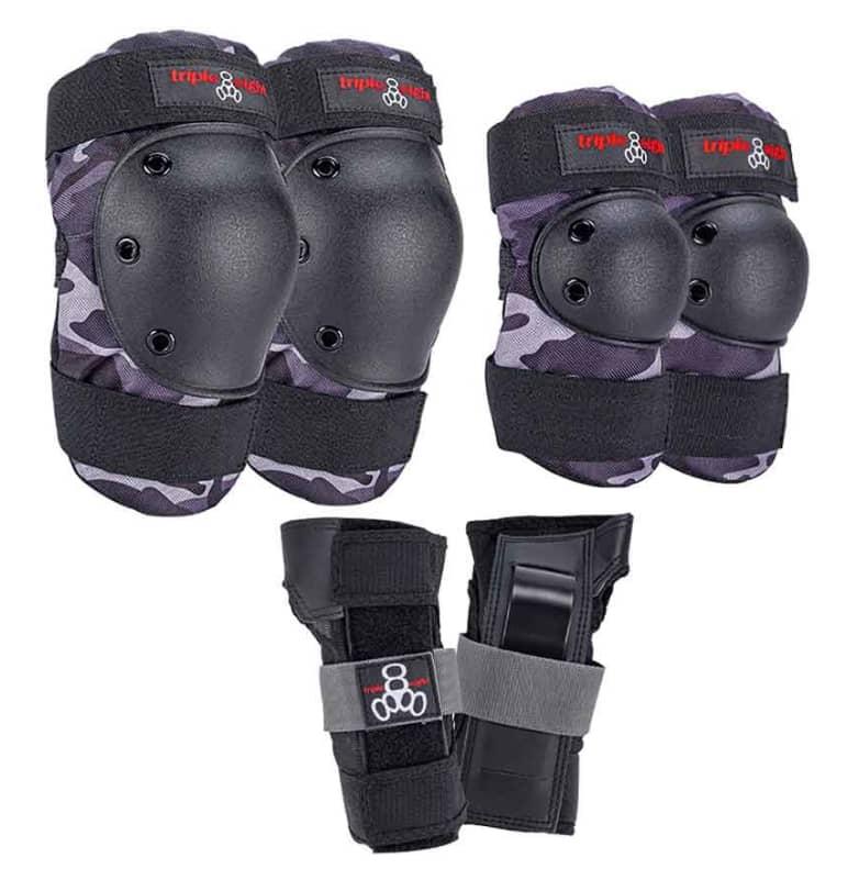 Triple Eight Protective Wear - Triple 8 Saver 3 Piece Pad Set SM | Pads by Triple Eight Protective Wear 1