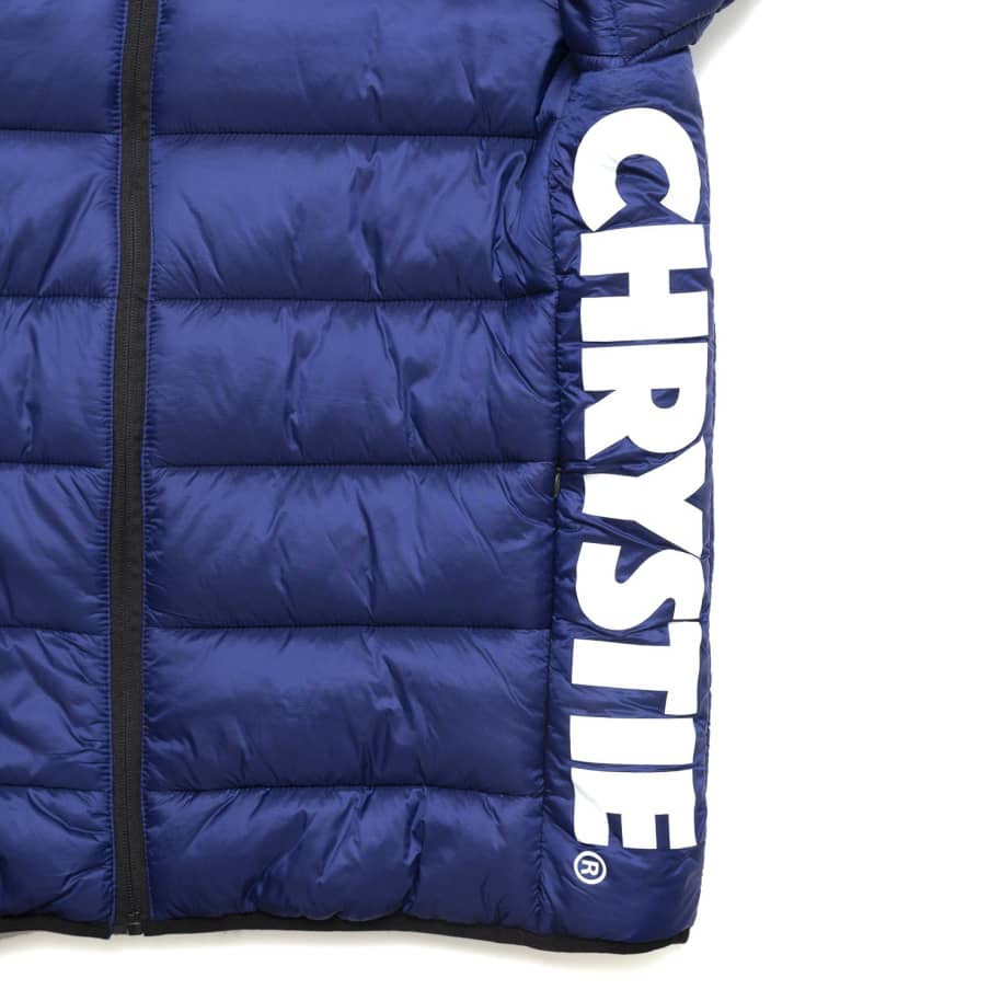Chrystie NYC - OG Logo Puffer Jacket / Sapphire Blue | Jacket by Chrystie NYC 4
