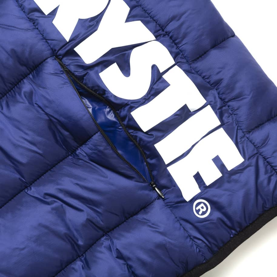 Chrystie NYC - OG Logo Puffer Jacket / Sapphire Blue | Jacket by Chrystie NYC 2