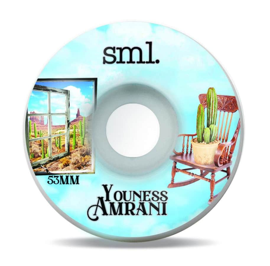 SML. Wheel Co. Youness Armani Still Life OG Wide 53mm 99a   Wheels by Sml Wheels 1