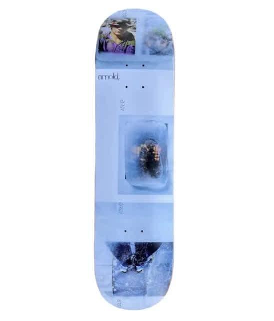 "Isle Freeze Series Mike Arnold Skateboard Deck - 8.25""   Deck by Isle Skateboards 1"