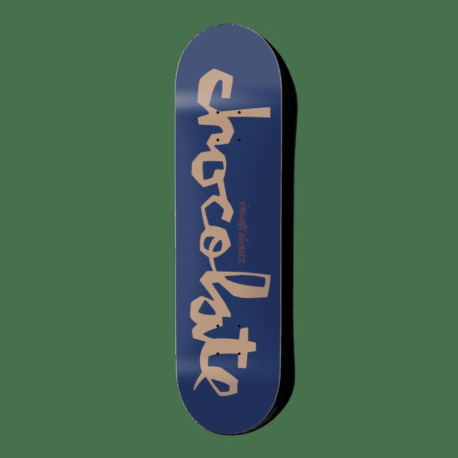 "Chocolate - W41 Vincent Alvarez - 8.25""   Deck by Chocolate Skateboards 1"