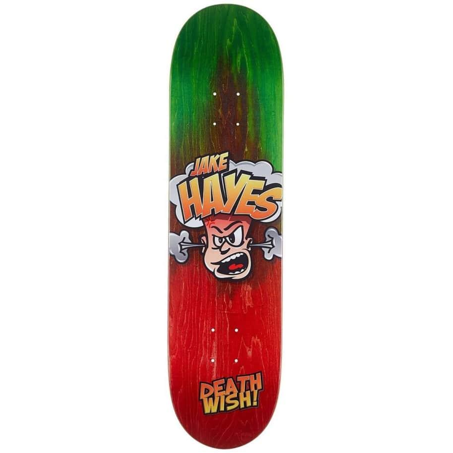 Deathwish Skateboards Jake Hayes Hot Head Skateboard Deck - 8.00 | Complete Skateboard by Deathwish 1