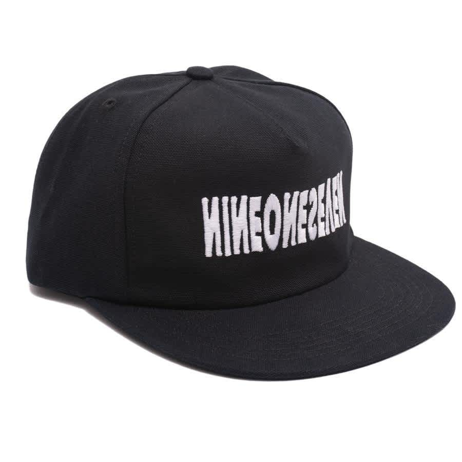 Call Me 917 Cyber Logotype Hat - Black | Snapback Cap by Call Me 917 1