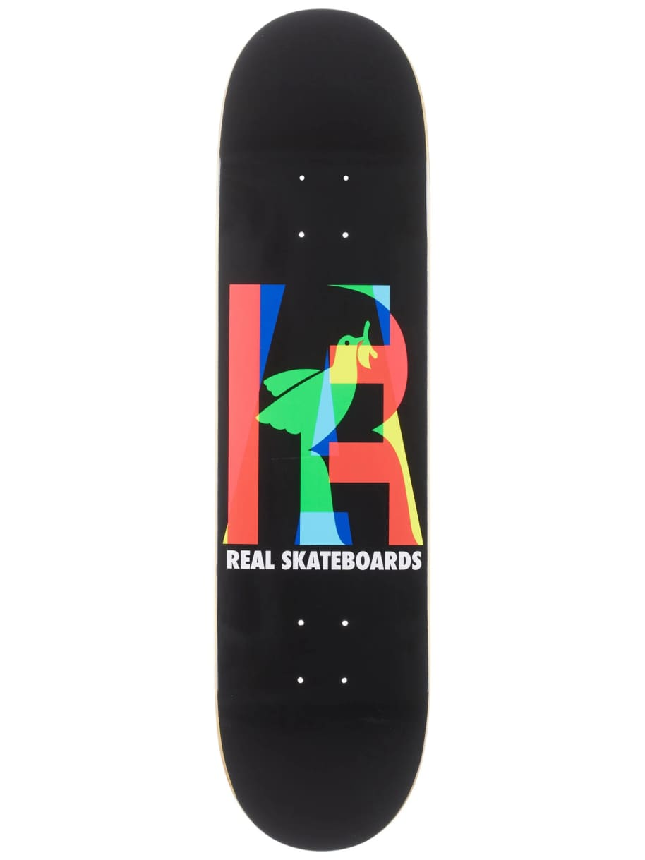 Real Eclipsing Black Deck | Deck by Real Skateboards 1