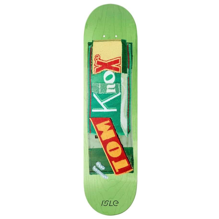 "Isle Skateboards - Pub Series - Tom Knox - Skateboard Deck - 8.375""   Deck by Isle Skateboards 1"