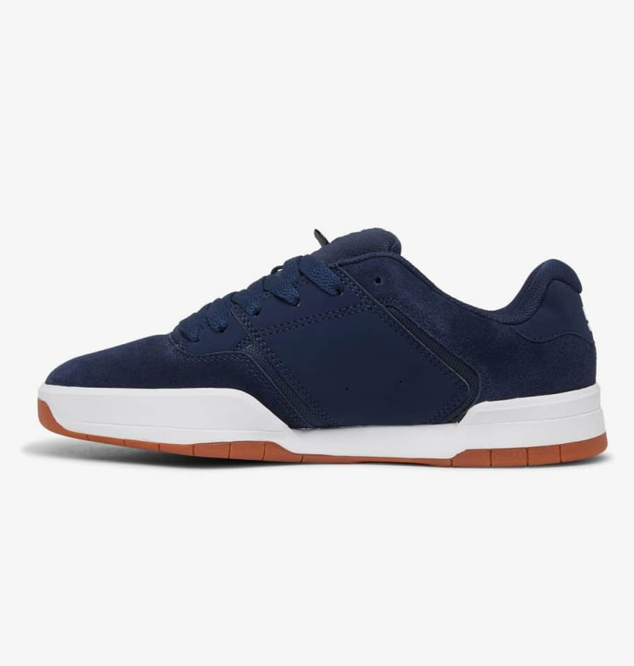 DC Shoes Central Skate Shoes - Navy / Gum | Shoes by DC Shoes 3