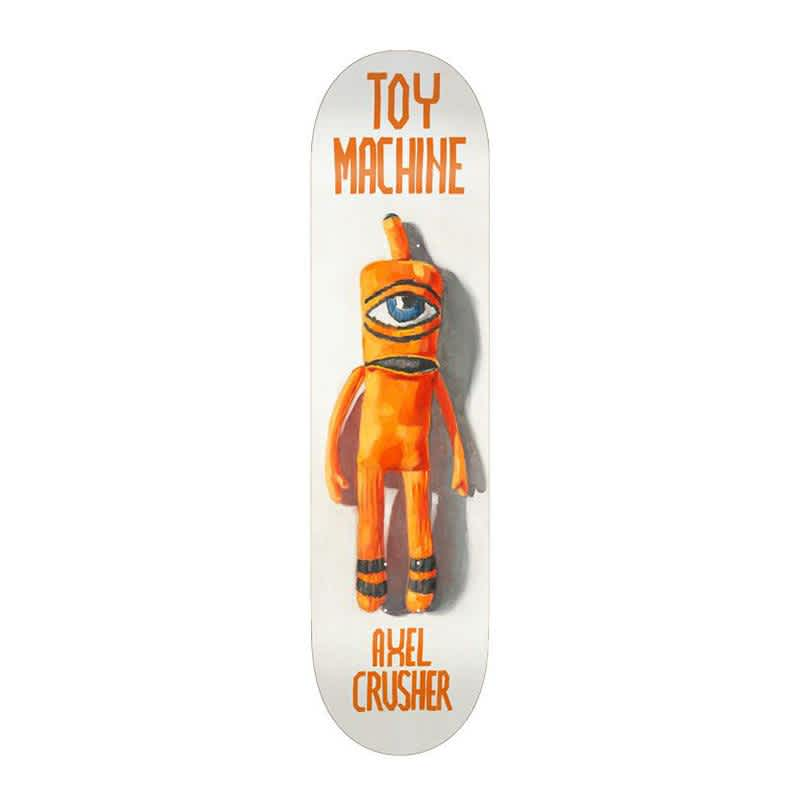 """Axel Sock Doll   8.5""""   Deck by Toy Machine 1"""