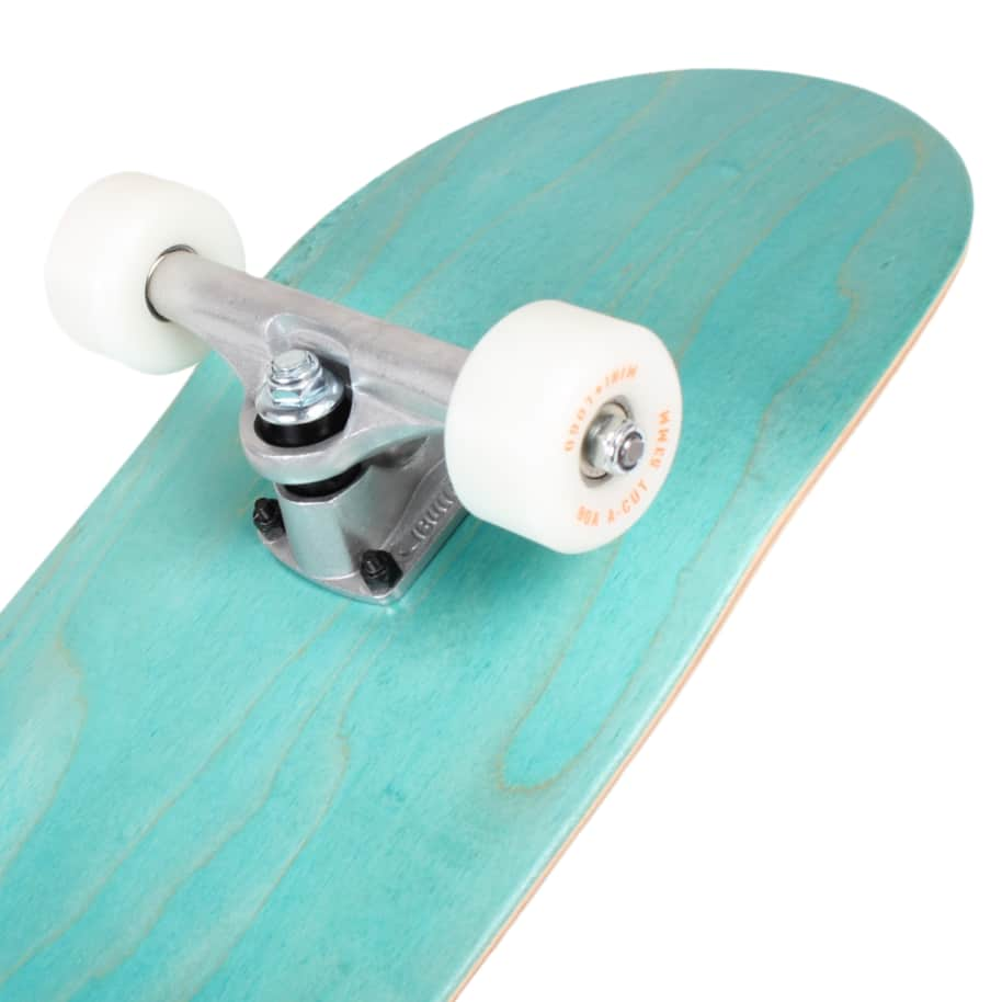 Orchard Green Bird Logo Hybrid Complete 7.8 Cyan (With Free Skate Tool)   Complete Skateboard by Orchard 4