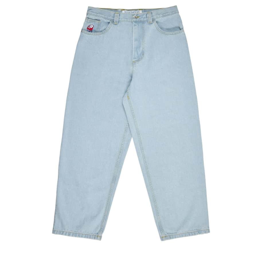 Polar Skate Co Big Boy Jeans - Bleach Blue | Jeans by Polar Skate Co 1