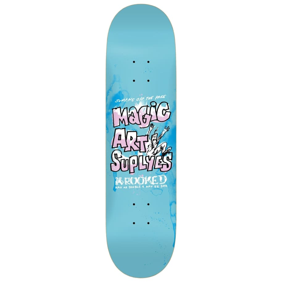 Krooked Magic Art Supplyes Deck (8.06) | Deck by Krooked Skateboards 1