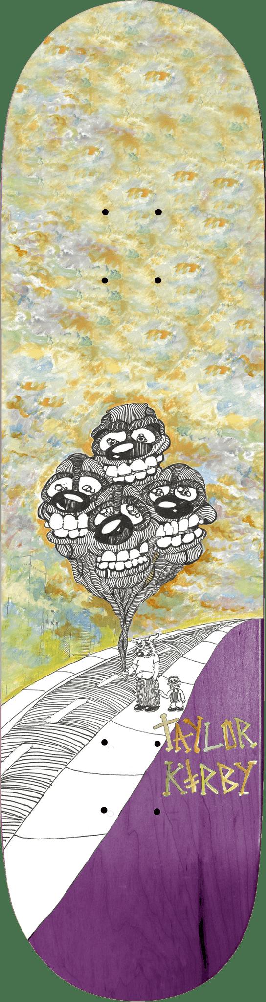 "Kirby Mice & Men Deck   8.25""   Deck by Deathwish 1"