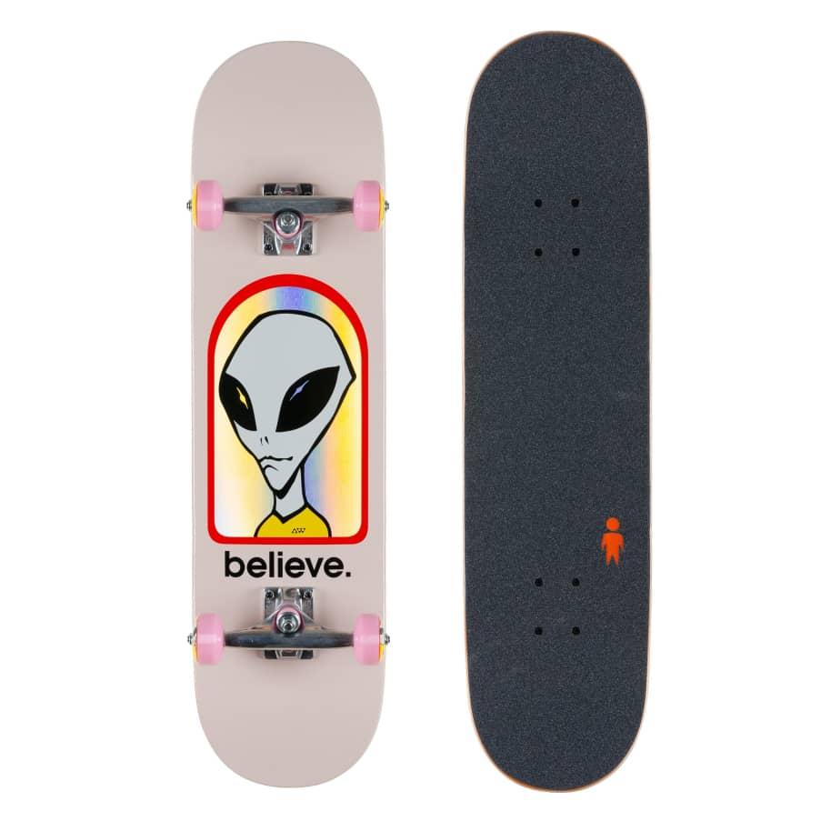 "Alien Workshop Believe Hologram Complete 7.87"" | Complete Skateboard by Alien Workshop 1"