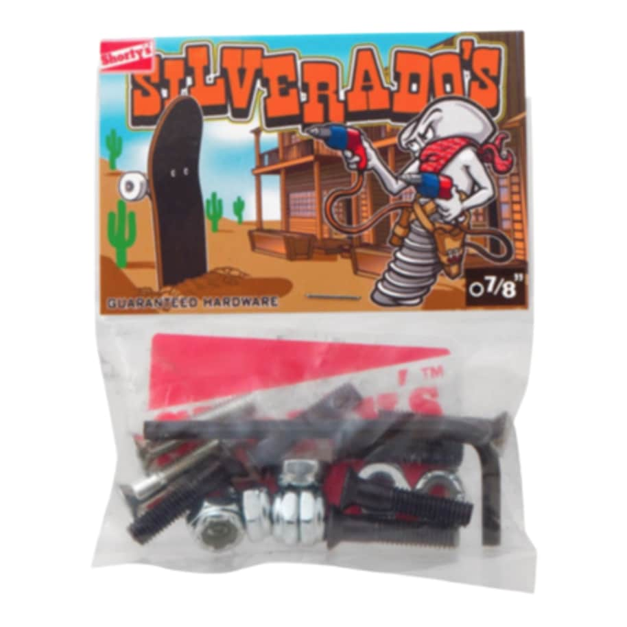 """SHORTY'S SILVERADOS ALLEN 7/8"""" HARDWARE 