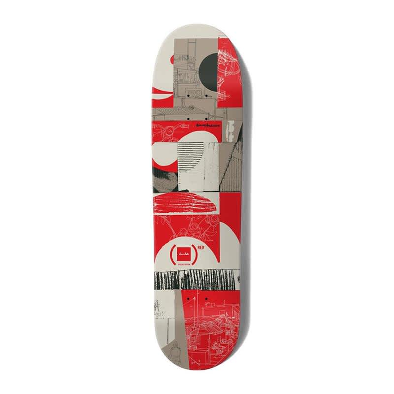 Chocolate Anderson (RED) Deck | Deck by Chocolate Skateboards 1