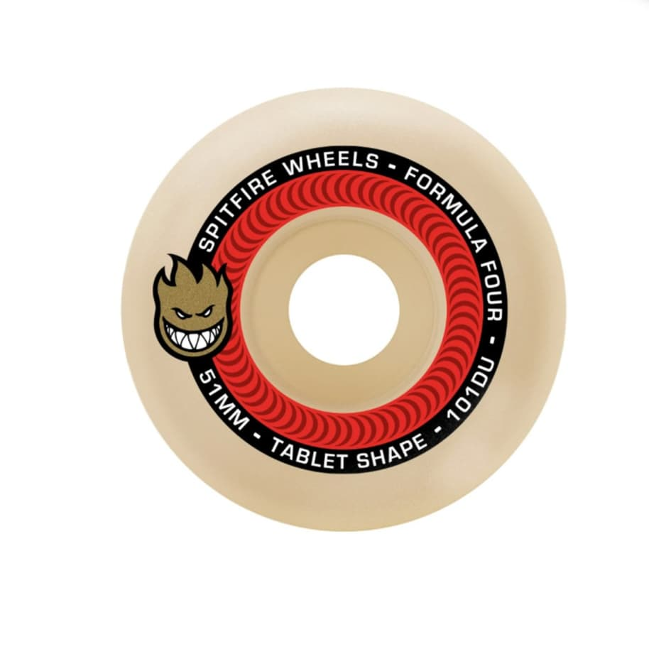 Spitfire Formula Four Tablets 101A - 52mm | Wheels by Spitfire Wheels 1