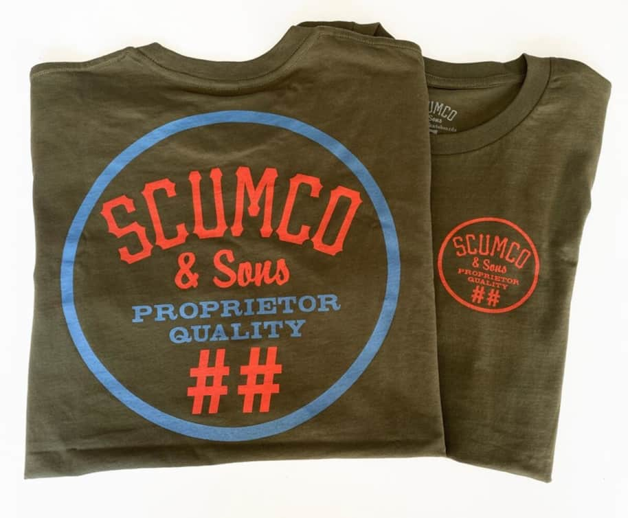 Scumco & Sons Army Logo Tee   T-Shirt by Scumco Skateboards 1