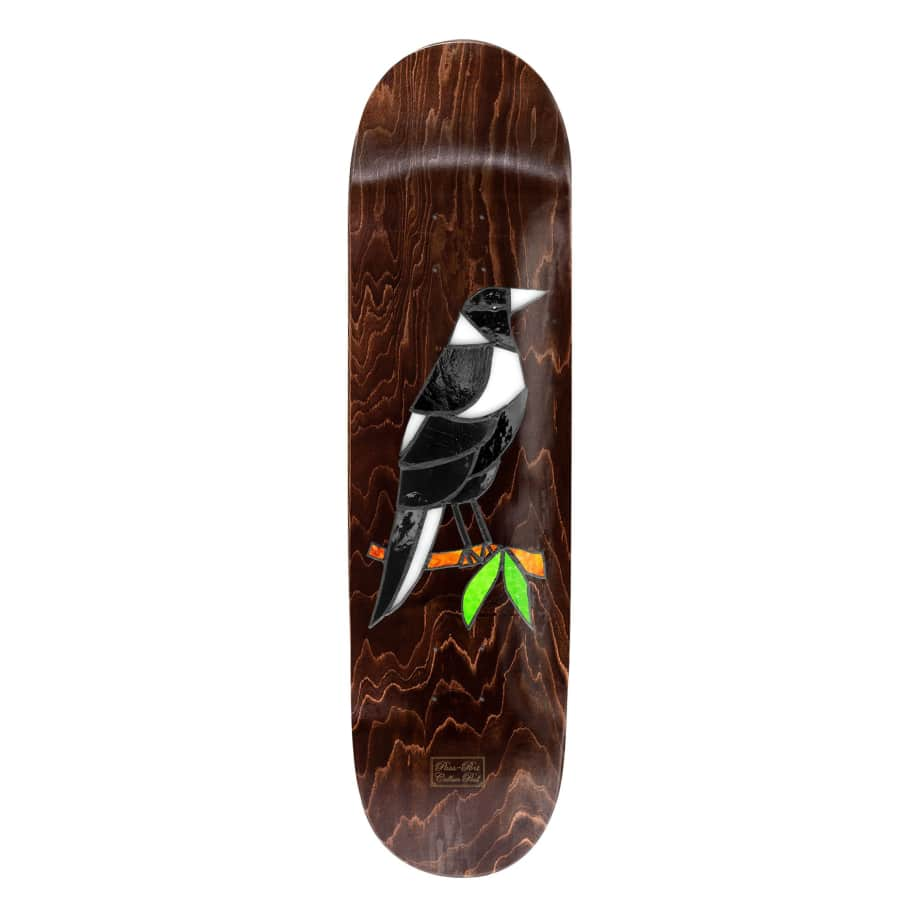 Passport Stained Glass Maggie Callum Paul Deck - 8.38"