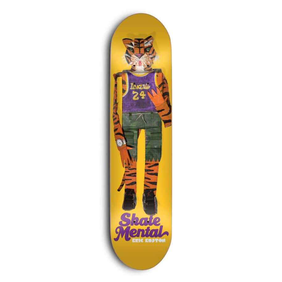 Skate Mental Koston Tiger Deck 8.375 | Deck by Skate Mental 1