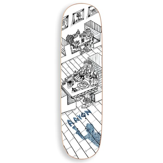 "Polar Skate Co Aaron Herrington Diner Skateboard Deck - 8.5"" P2 Special Shape | Deck by Polar Skate Co 1"