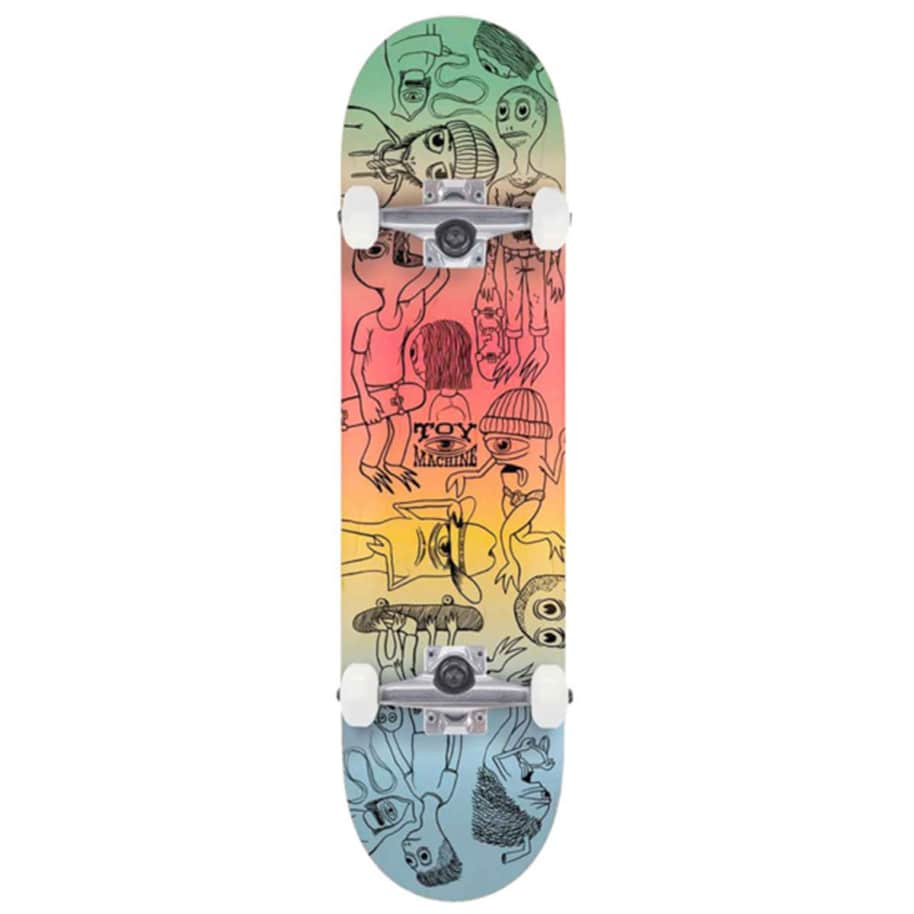 """Toy Machine Complete - Characters 8"""" 