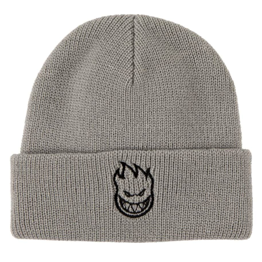 Bighead Cuff Beanie | Light Grey | Beanie by Spitfire Wheels 1