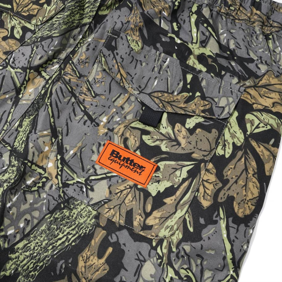 Butter Goods Equipment Cargo Pants - Leaf Camo | Trousers by Butter Goods 5