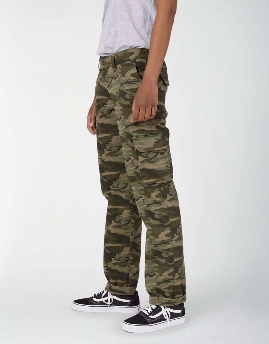 Dickies Women's Relaxed Straight Cargo FP888 Pant | Trousers by Dickies 1