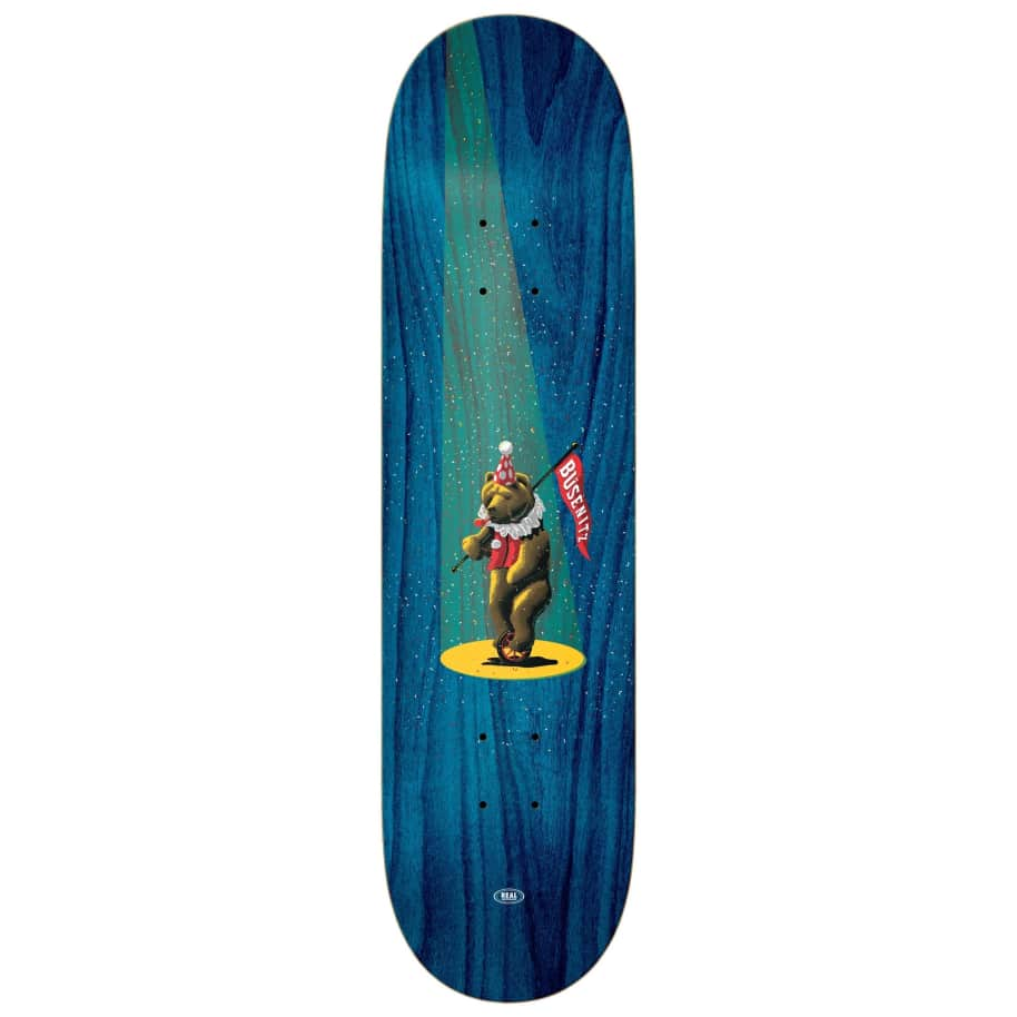 Real Skateboards - Busenitz Circus Deck | Deck by Real Skateboards 1