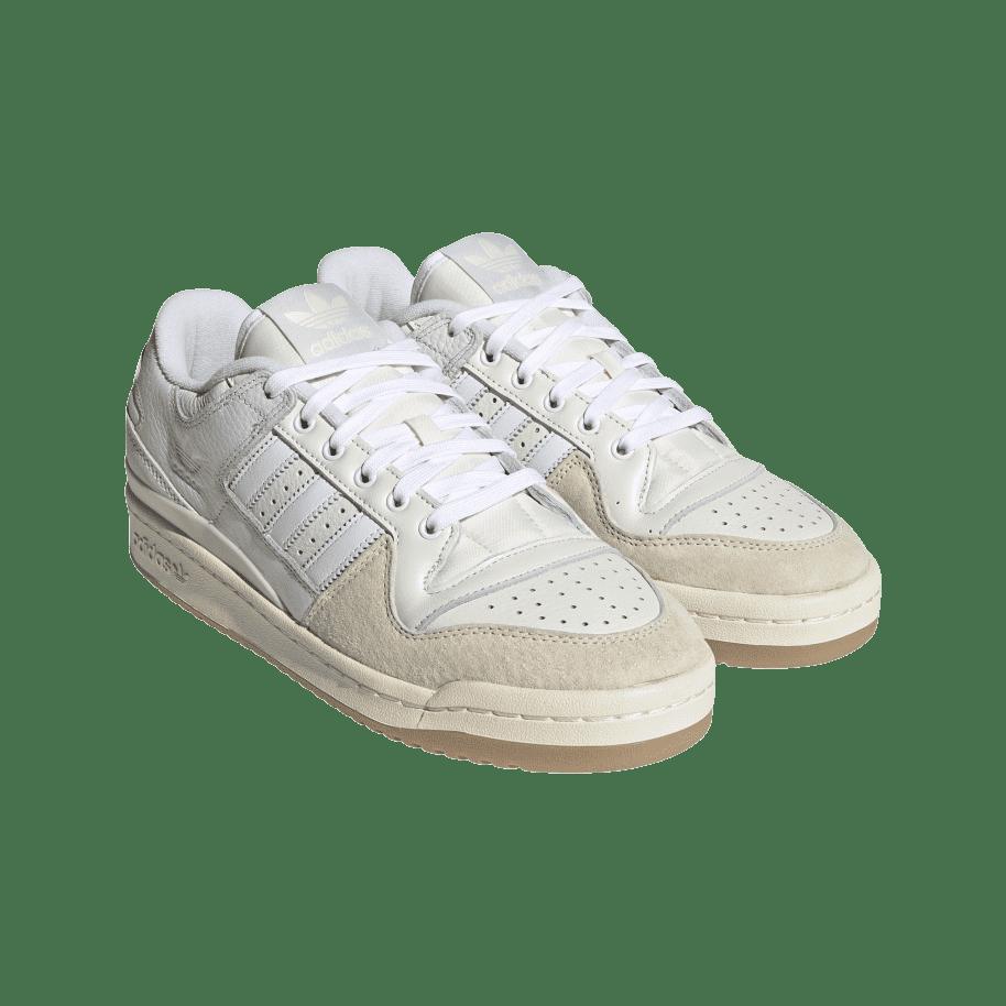 adidas Skateboarding Forum 84 Low ADV Shoes - Chalk White / Ftwr White / Cloud White | Shoes by adidas Skateboarding 5