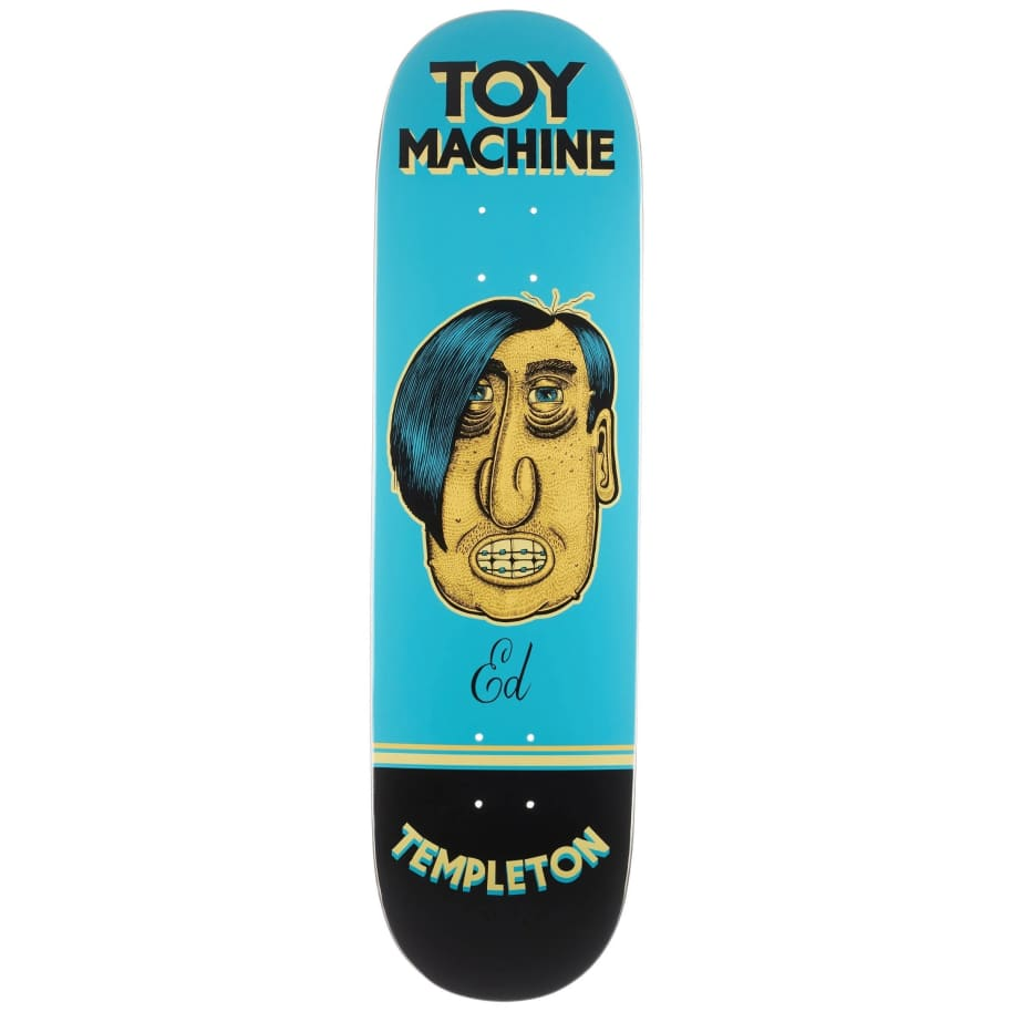 Toy Machine Templeton Pen N Ink Deck (8.5) | Deck by Toy Machine 1