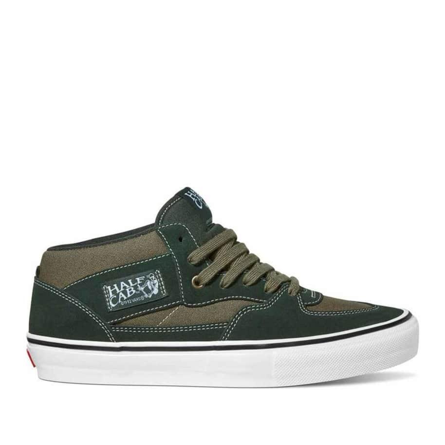 Vans Skate Half Cab Shoes - Scarab / Military   Shoes by Vans 1