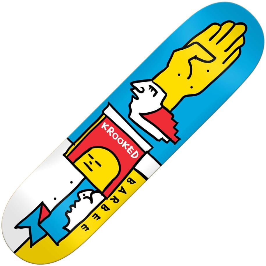 "Krooked Ray Barbee Mondriaan deck (8.55"") | Deck by Krooked Skateboards 1"