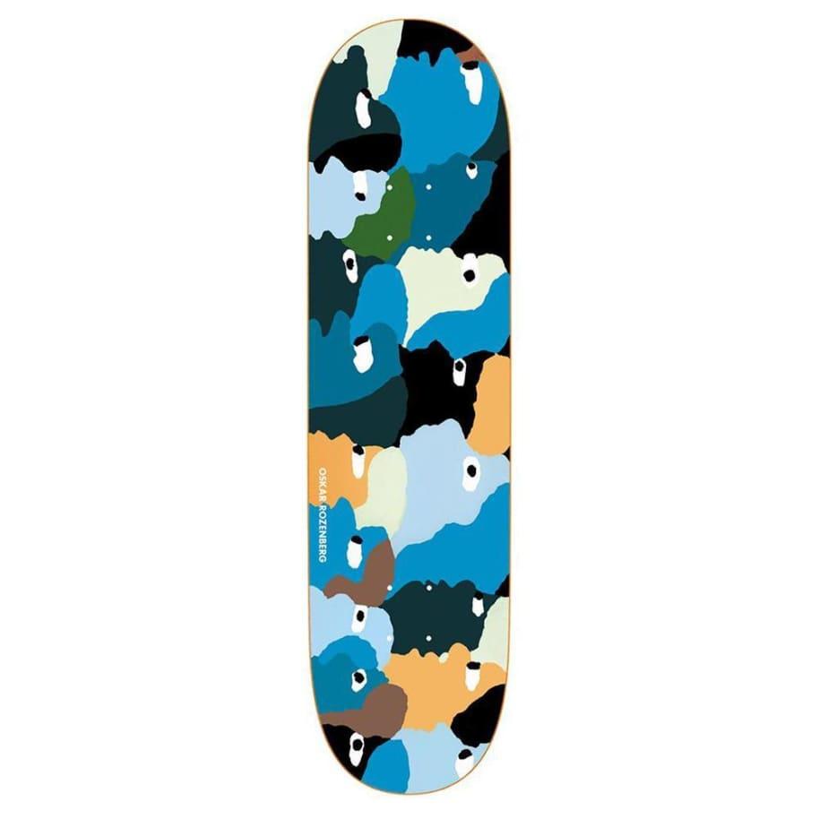 "Polar Skate Co Oskar Rozenberg Heads Skateboard Deck - 8"" | Deck by Polar Skate Co 1"