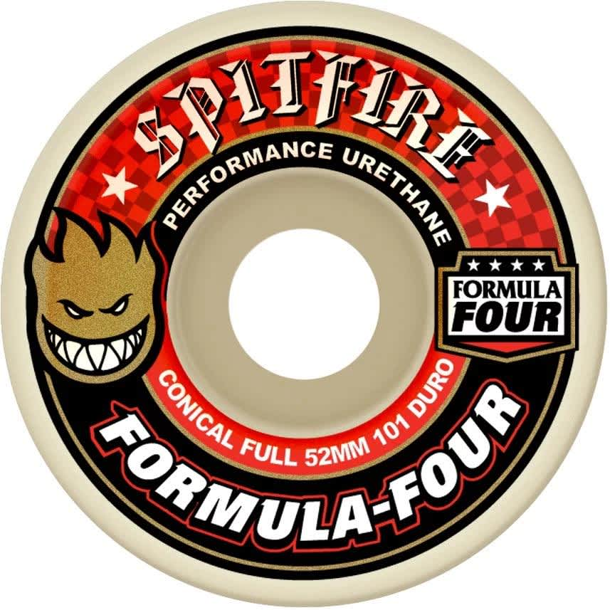 Spitfire - F4 101D Conical Full Wheels   Wheels by Spitfire Wheels 1