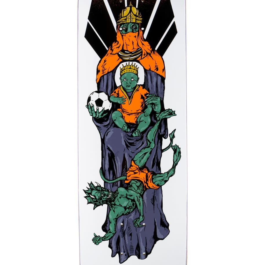 """Welcome Futbol on Son Of Moontrimmer Deck - 8.25""""   Deck by Welcome Skateboards 3"""