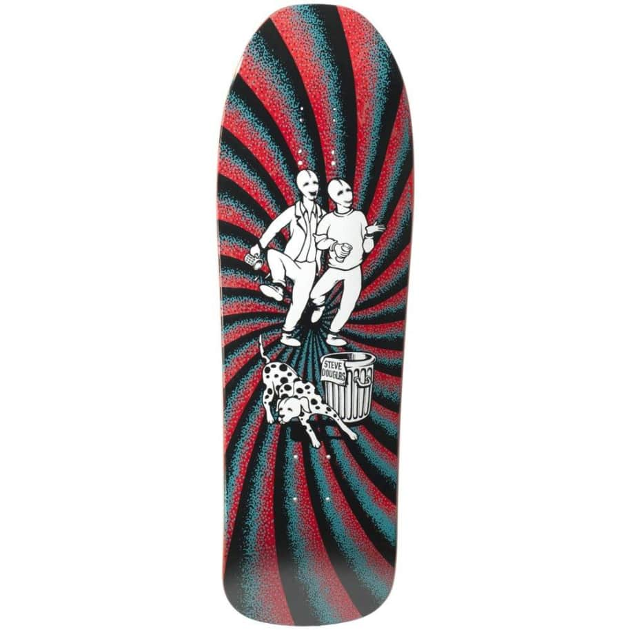 "New Deal - Douglas Chums Screen Printed Deck (9.75"") 