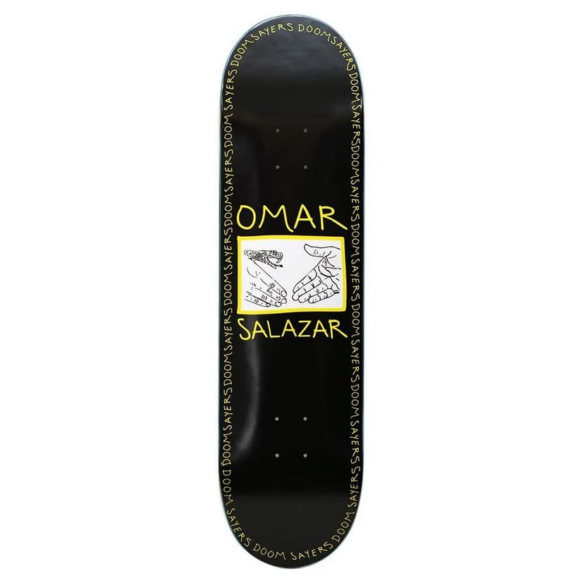 Omar Snake Shake Deck | Deck by Doom Sayers Club 1