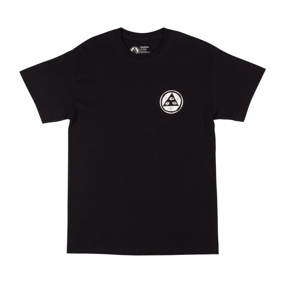 Welcome Statue Basic Tee Black | T-Shirt by Welcome Skateboards 2