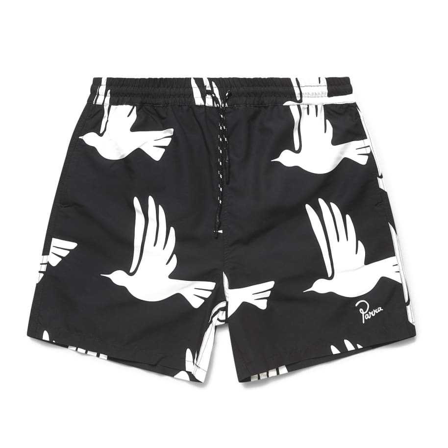 by Parra Static Flight Swimshorts - Black | Shorts by by Parra 1