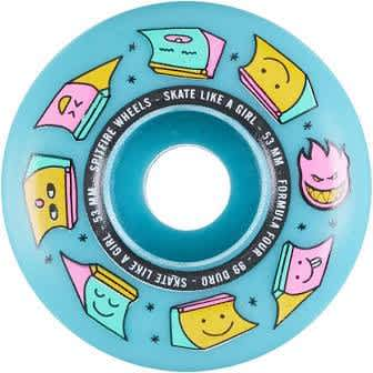 Formula Four Radial 99d Skate Like A Girl Edition | Wheels by Spitfire Wheels 1