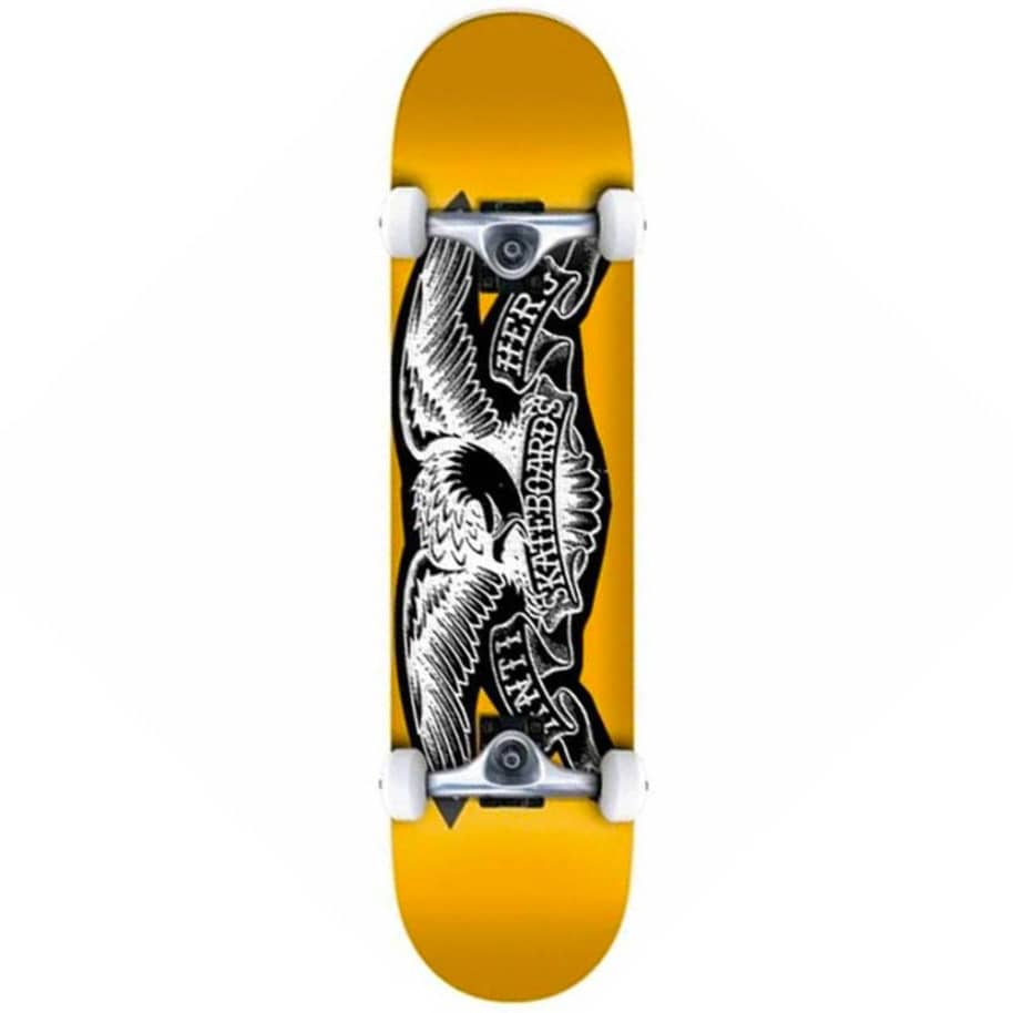 "Antihero Skateboards - Copier Eagle Complete Skateboard 8"" Wide 