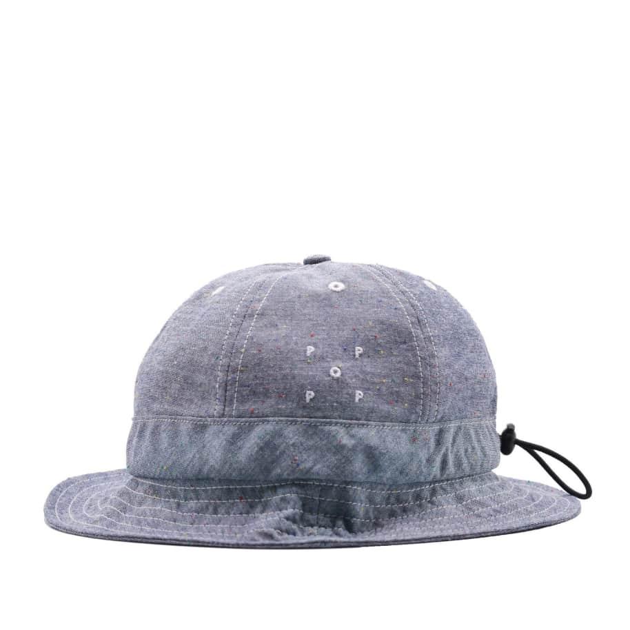 Pop Trading Company Bell Hat - Chambray   Bucket Hat by Pop Trading Company 1