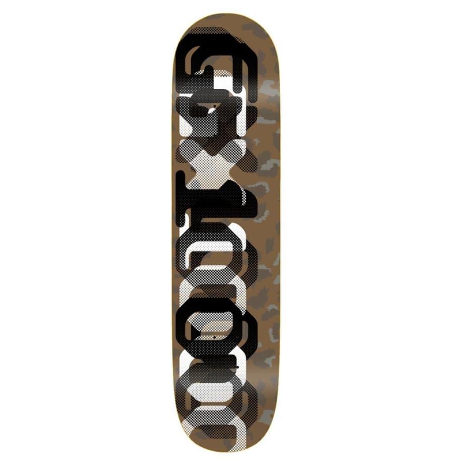 "GX1000 OG Leopard Camo One Skateboard Deck - 8.125"" | Deck by GX1000 1"