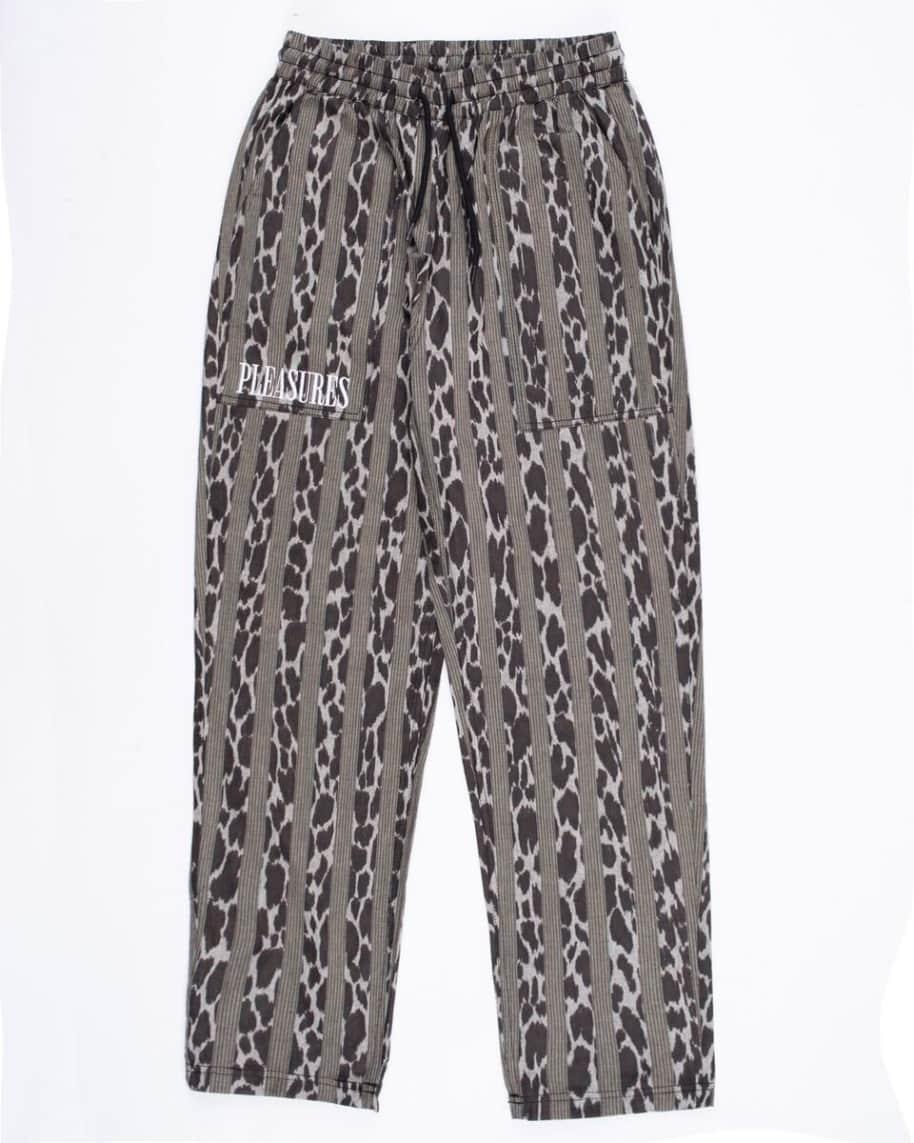 Pleasures - Bloom Striped Beach Pant   Trousers by Pleasures 1