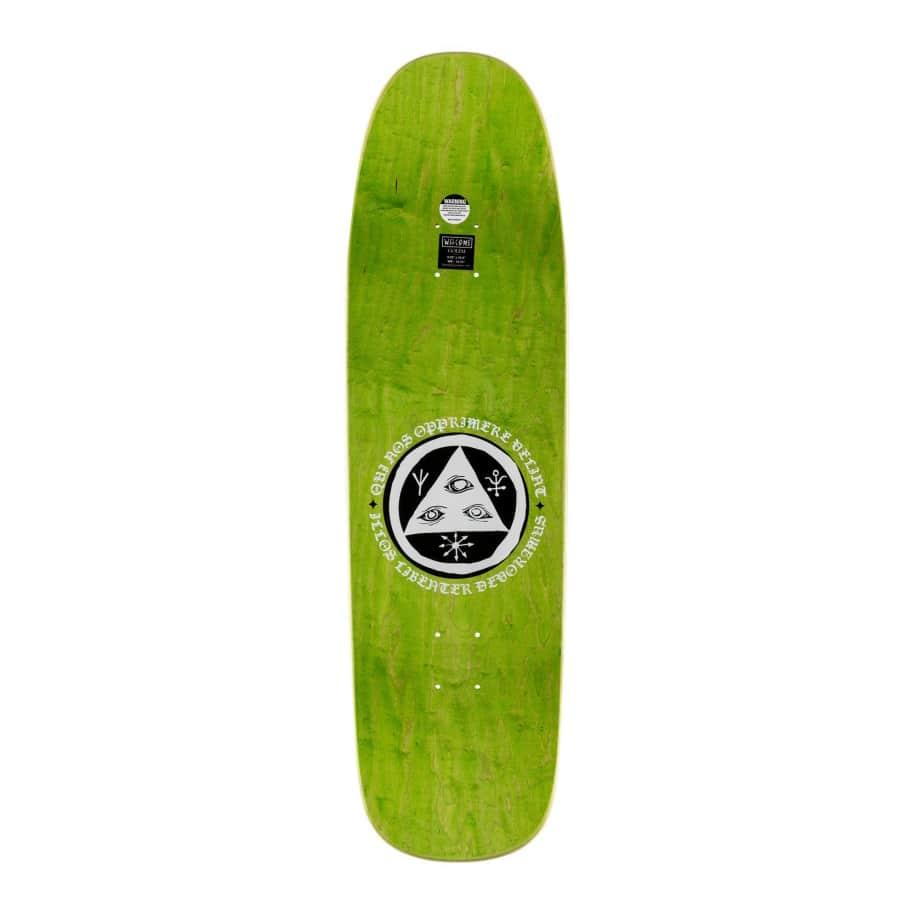 NO STRANGE DELIGHT ON GOLEM | Deck by Welcome Skateboards 2